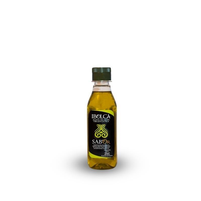Aceite de Oliva Virgen Extra IBOLCA SAB´OR irrellenable Caja 20x250 ml.